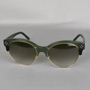 (Chloé) Round Green Sunglasses CE704S